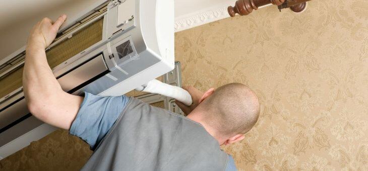 Расценки на работы по установке кондиционеров и вентиляции